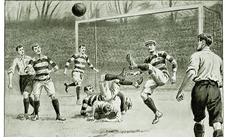 История возникновения футбола в испании
